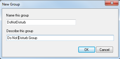 Group name and description - MDaemon user group