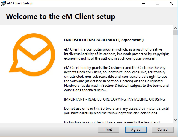 eM Client License Agreement
